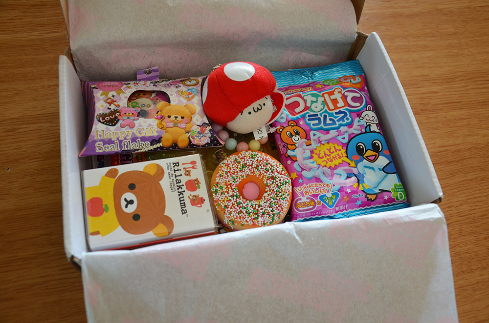 July kawaii box unboxing review giveaway for Sito per regalare oggetti